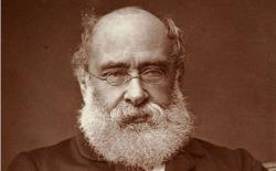 BXD7PG Anthony Trollope (1815-1882) English Novelist. Portrait Albumen Print c1880. Image shot 1880. Exact date unknown.